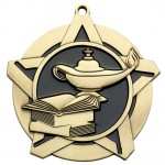 PDU-Super Star Medal - Lamp of Knowledge