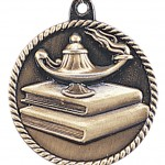 JDS-High Relief Medal - Lamp of Knowledge