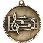 JDS-High Relief Medal - Music