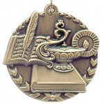 JDS-Millennium-STM Medal - Lamp of Knowledge