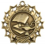 JDS-Ten Star Medal - Lamp of Knowledge